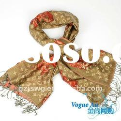 2011 new arrival design cotton hot sellig Scarf /long printed scarf/ brand Shawl Pashmina