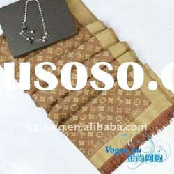 2011 new arrival hot sale high quality scarf /real silk scarf/ long Shawl Pashmina