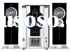 2.1ch active 6.5'' subwoofer home theatre speaker system