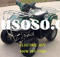 500w electric atv for kids / electric 4x4 atv