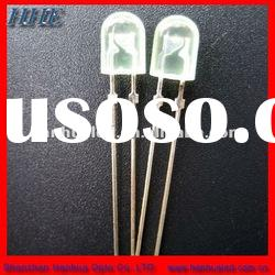 5mm diffused oval led diodes longest life time