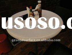 Acrylic Solid Surface table,dining table for Restaurant