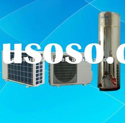 Air Source heat pump with water tank