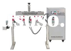 Air cooling high speed cosmetic bottle sealing machine