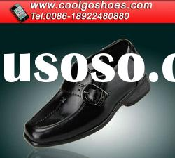Best quality boys shoes for school for party made in Guangzhou China