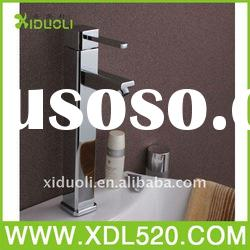 Brass body Zinc Handle chrome plating basin tap