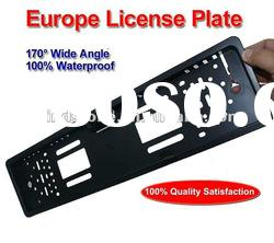 Car Safe Camera European Official License Plate Frame