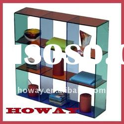 Clear Acrylic Cuboid Display Stand,store display,displays rack,literature holder
