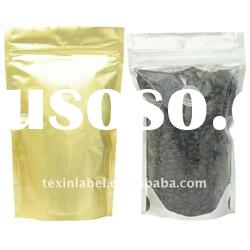 Coffee bag for coffee packaging with one-way degassing valve