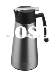 Double wall stainless steel insulated coffee pot 1.3 liter