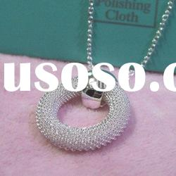 Fashion jewelry 925 sterling silver necklace