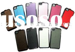 For 3 in 1 Detachable iPhone 4 PU Leather Case