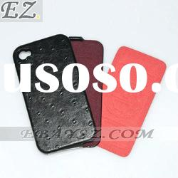 Freeshipping 30X Borofone Flip Genuine Leather Case For iphone 4 4s MN-0165