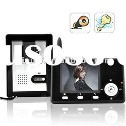 Freeshipping Wireless Intercom System, Color Video Door Phone Christmas Promotion!