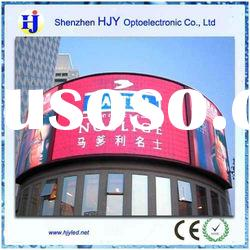 High Quality Curved Display Wall Led Display Sign