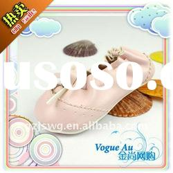 Hign Quality Genuine Leather New style fashion shoes for Children Pink