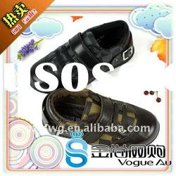 Hot sale and new design baby leather shoes 2011/kid shoes are new arrival