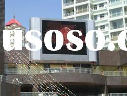 Housetop installed PH10mm outdoor RGB led video display