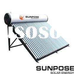 Intergrated Pressurized Solar Water Heater/heat pipe tube