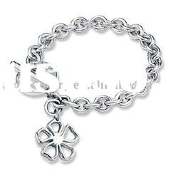 Jewelry Accessories Charm 925 Silver Bracelet H001