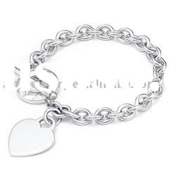 Jewelry Accessories Charm 925 Silver Bracelet H002
