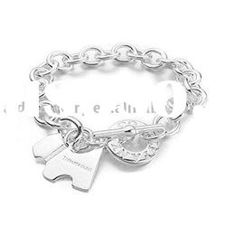 Jewelry Accessories Charm 925 Silver Bracelet H005