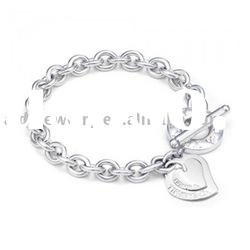 Jewelry Accessories Charm 925 Silver Bracelet H006