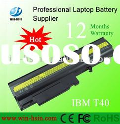 Laptop battery for IBM ThinkPad T40 R50 6 Cell