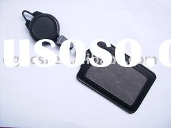 Leather card holder(material:PU or genuine leather)