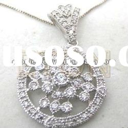 Low wholeslae price top quality fashion 925 sterling silver pendant jewelry (P3162)