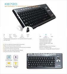 Mini wireless keyboard with trackball for HTC