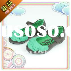 New styles green colour casual girl shoes
