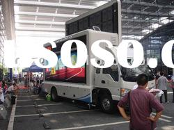 P10 advertising truck mounted mobile led screen
