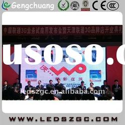 P6 movable rental led display used as stage backdrop or party