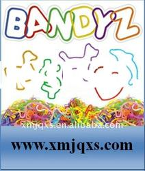 Silicone Shaped Rubber Bands with Free shapes