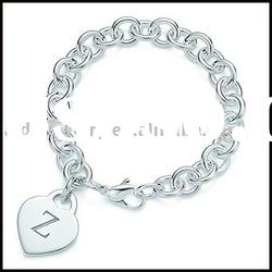 Silver charms bracelet & silver jewelry YH (12)