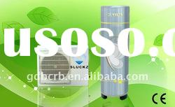 Split electric heat pump water heater