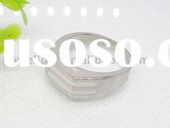 Stainless Steel Epoxy Jewelry Rings