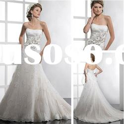 WD5130 Luxury Lace A line Wedding Dresses