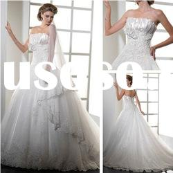WD5142 Luxury Lace A line Wedding Dresses