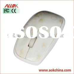 Water Printing 1000DPI Optical Mouse FCC Standard