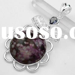 Wholesale pendant market cheap fashion jewelry Turquoise