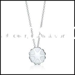 Wholesale silver charms necklace