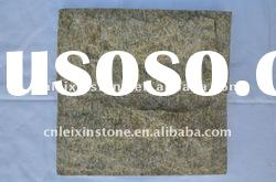 Yellow quartz slate stone
