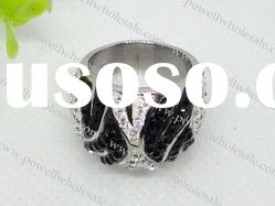 charm 316L Stainless Steel Ring