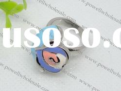 colourful 316L Stainless Steel Ring