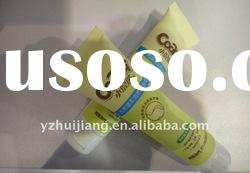 cosmetic packaging of plastic tube