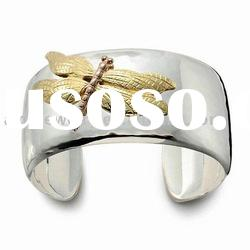 costum jewelry silver men's jewelry bangle Bracelet B046