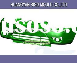 custom process plastic injection mold for auto bumper