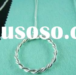 fashion 925 sterling silver necklace